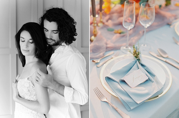 Place Setting | Tropical Elopement Inspiration by Steve Torres Photography