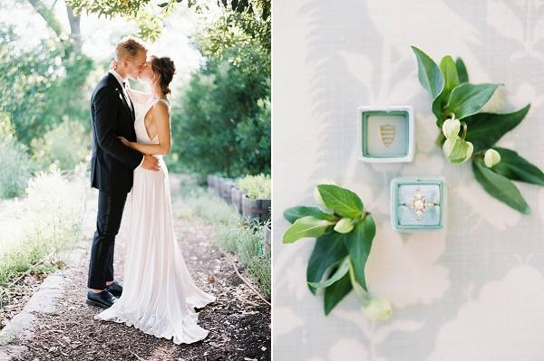 Bride and Groom | Timeless Garden Wedding Elegance from Michelle Boyd Photography