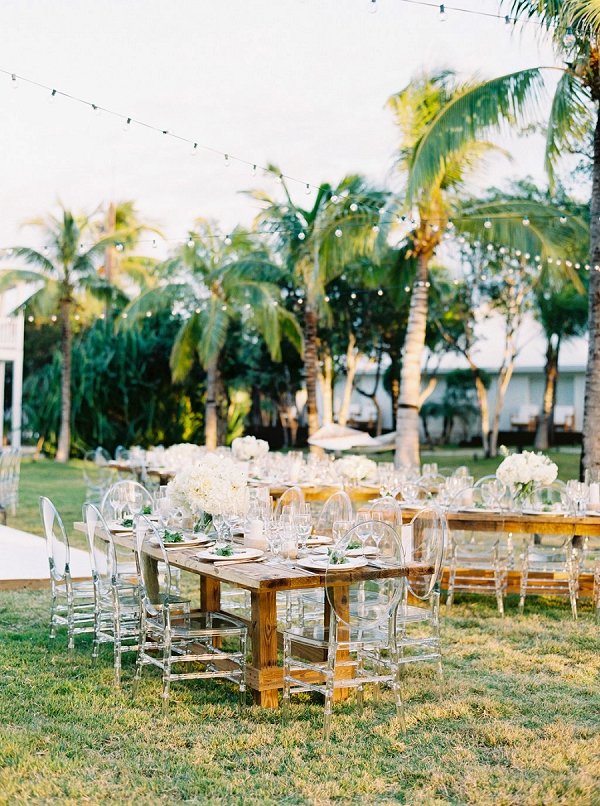 Modern and Organic Wedding Reception | Glamorous Wedding Weekend in the Bahamas by Hunter Ryan Photography