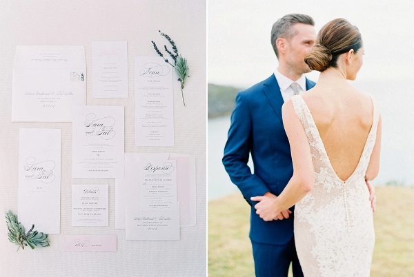 Wedding Stationery | Glamorous Wedding Weekend in the Bahamas by Hunter Ryan Photography
