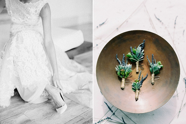 Boutonnieres | Glamorous Wedding Weekend in the Bahamas by Hunter Ryan Photography