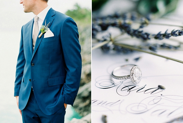Groom | Glamorous Wedding Weekend in the Bahamas by Hunter Ryan Photography