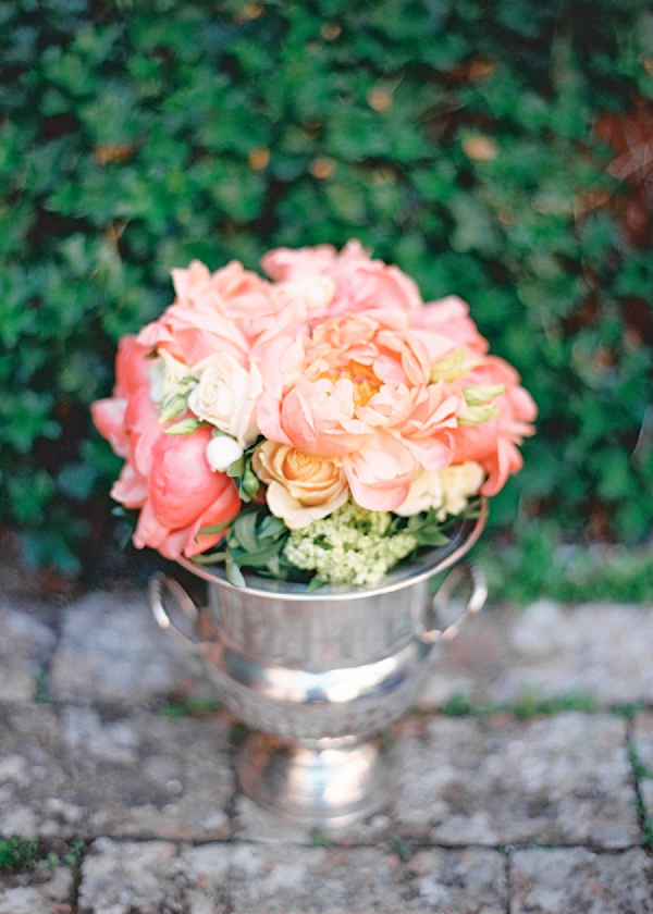 Peony Bouquet | Intimate and Romantic Tuscany Destination Wedding by Kir & Ira Photography