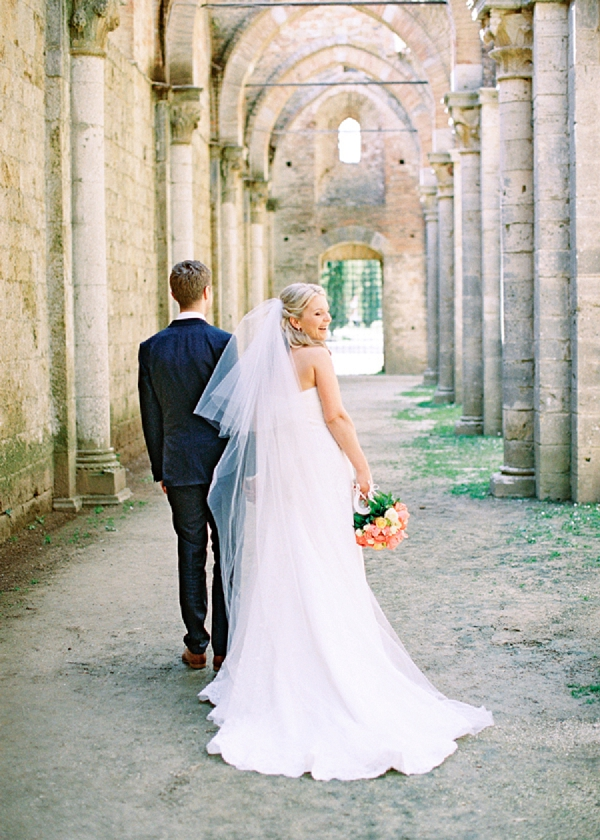 Bride and Groom | Intimate and Romantic Tuscany Destination Wedding by Kir & Ira Photography