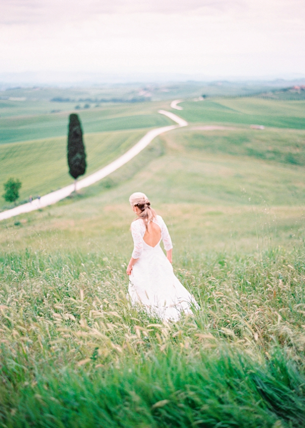 Bride in Italy | Intimate and Romantic Tuscany Destination Wedding by Kir & Ira Photography