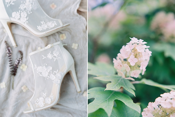Bridal Shoes | Modern Chic Garden Wedding Inspiration by Jenna McElroy Photography