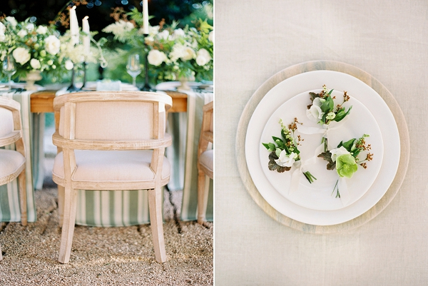 Boutonnieres | Timeless Garden Wedding Elegance from Michelle Boyd Photography