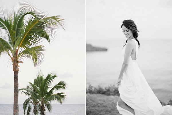 Elegant Bride | Tropical Beach Wedding Ideas By Simply Sarah Photography