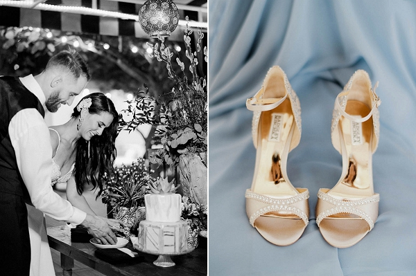 Wedding Shoes | Chic Art Deco Miami Wedding By Merari Photography