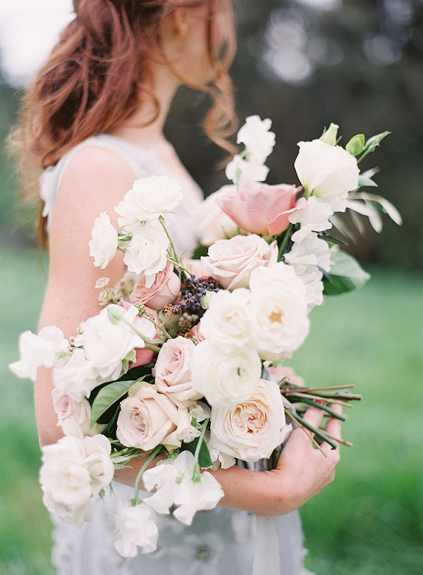 Bridal Bouquet | Romantic Floral Wedding Inspiration By Sara Weir Photography