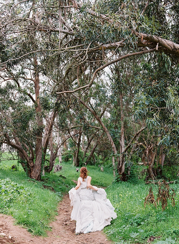 Bride | Romantic Floral Wedding Inspiration By Sara Weir Photography