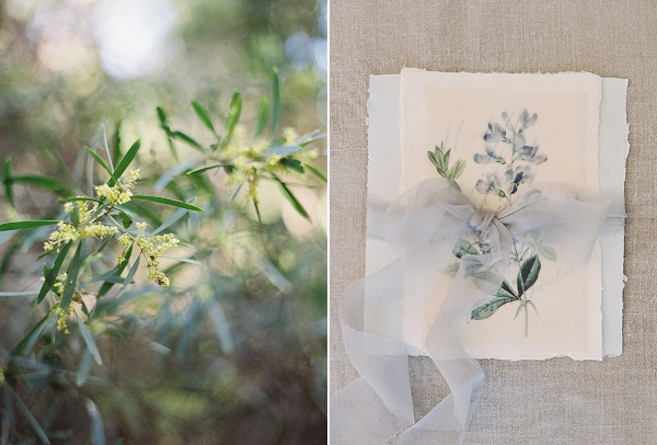 Floral Illustration | Romantic Floral Wedding Inspiration By Sara Weir Photography