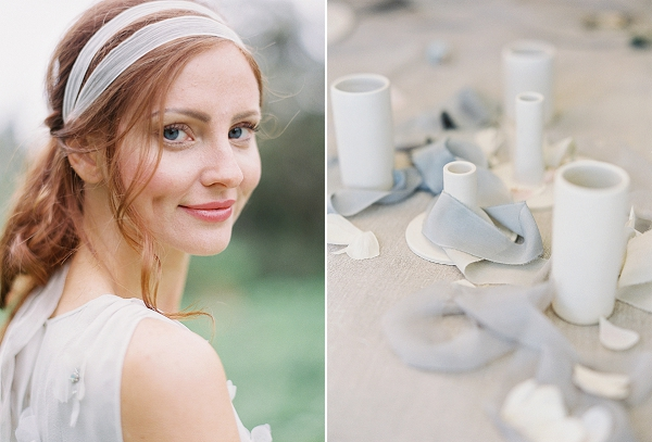Bridal Hair and Makeup | Romantic Floral Wedding Inspiration By Sara Weir Photography