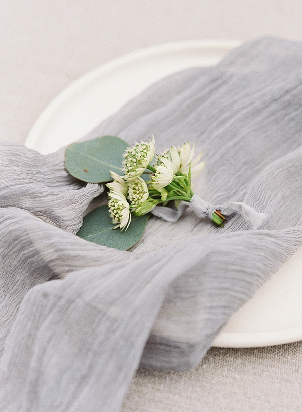 Boutonniere | Romantic Floral Wedding Inspiration By Sara Weir Photography