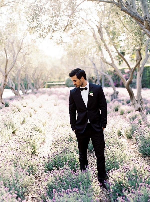 Classic Groom | Classically Elegant Lavender Wedding Inspiration at San Ysidro Ranch by Jen Rodriguez Photography
