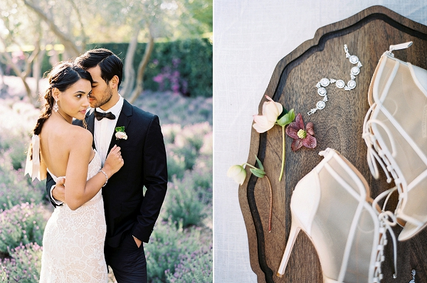 Bridal Accessories | Classically Elegant Lavender Wedding Inspiration at San Ysidro Ranch by Jen Rodriguez Photography