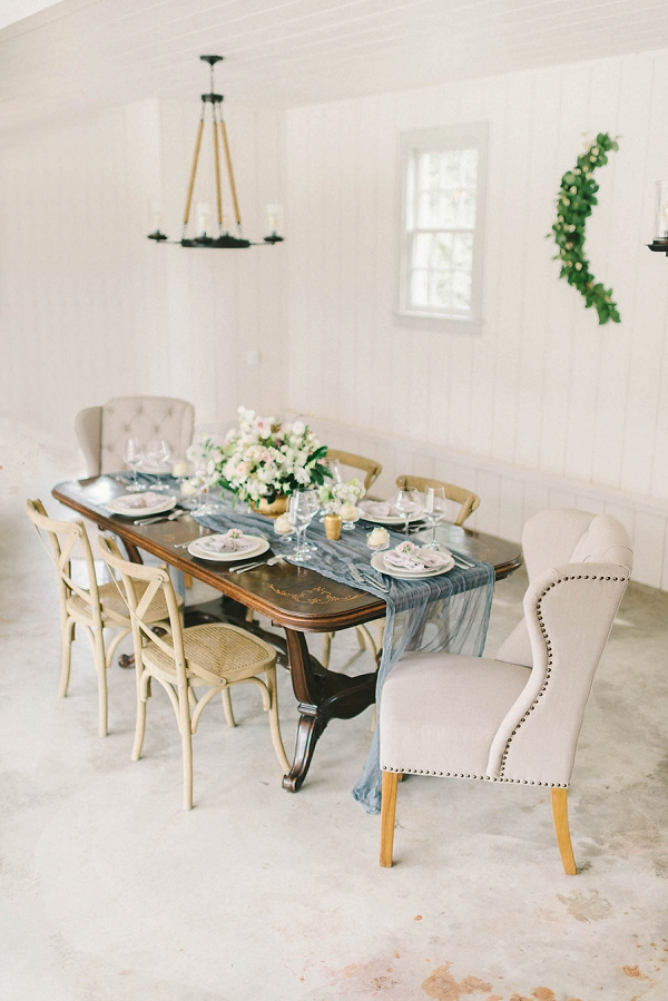 Classic Tablescape with Modern Twist | Elegant Floral Wedding Inspiration By Elizabeth Fogarty Photography