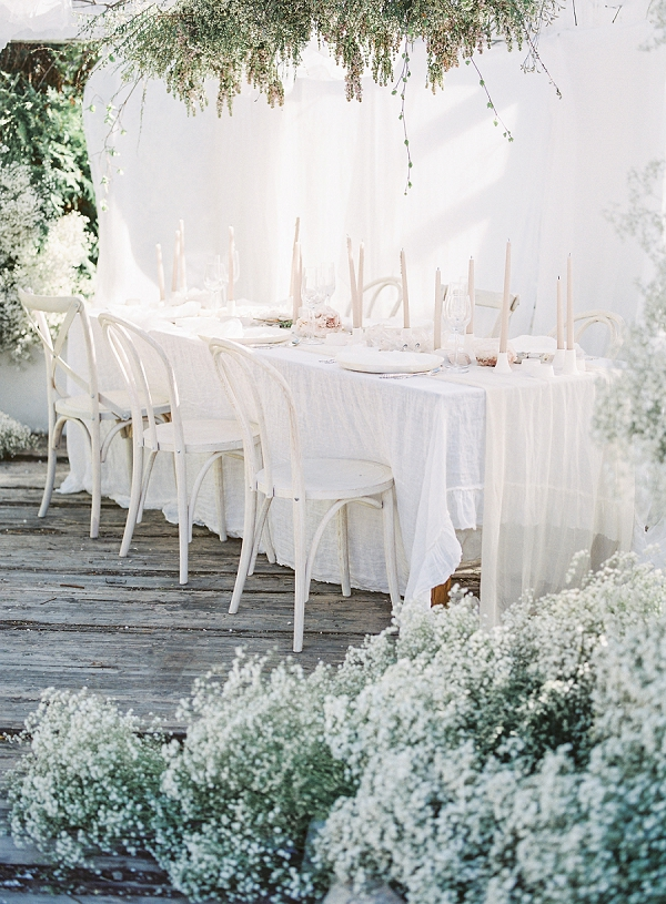 Dreamy Tablescape Inspiration | Enchanting Crystal Wedding Ideas from Lisa Catherine Photography