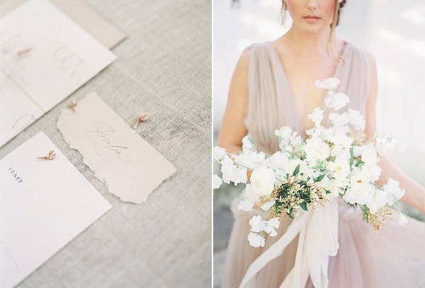 Bridal Bouquet | Enchanting Crystal Wedding Ideas from Lisa Catherine Photography