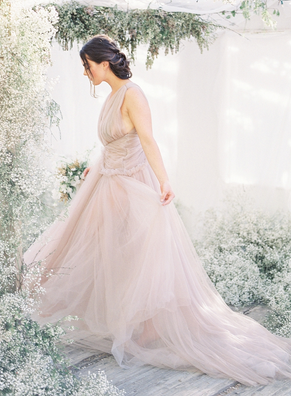 Grecian-Inspired Bride | Enchanting Crystal Wedding Ideas from Lisa Catherine Photography