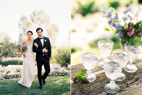 Bride and Groom | Classically Elegant Lavender Wedding Inspiration at San Ysidro Ranch by Jen Rodriguez Photography