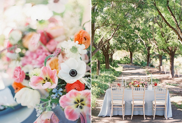 Tablescape | Monet Garden Wedding Inspiration by Nathalie Cheng Photography