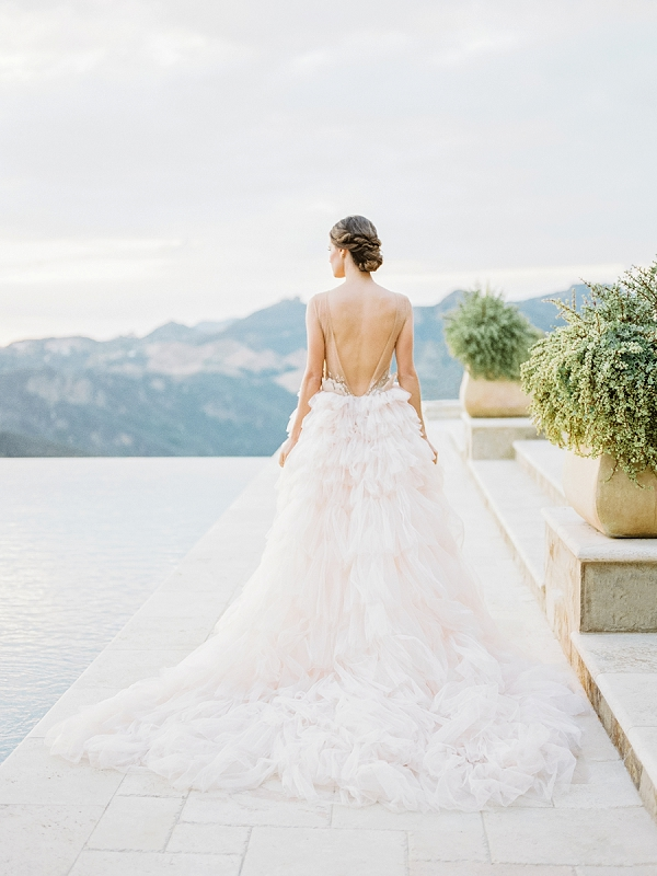 Musat Bridal Gown   Romantic Bridal Ballerina Inspiration In Malibu by Babsie Ly Photography