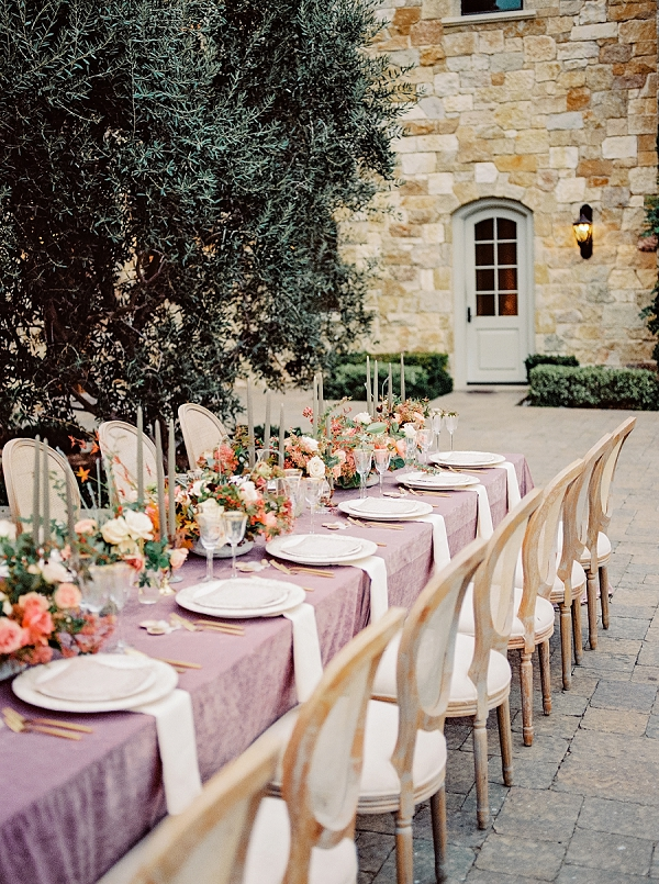 Elegant Reception Seating   Romantic Bridal Ballerina Inspiration In Malibu by Babsie Ly Photography