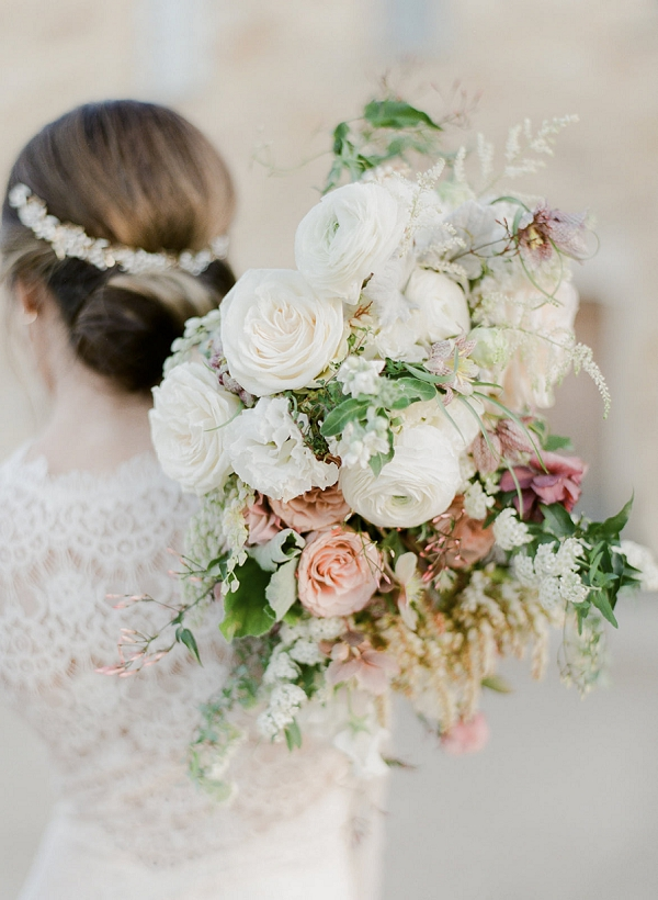 Lush Bouquet | European Inspired Wedding Ideas With Old World Elegance by Jeanni Dunagan Photography