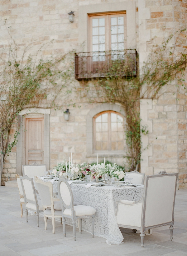 French Style Reception | European Inspired Wedding Ideas With Old World Elegance by Jeanni Dunagan Photography