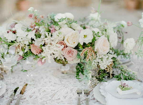 Floral Centerpiece | European Inspired Wedding Ideas With Old World Elegance by Jeanni Dunagan Photography