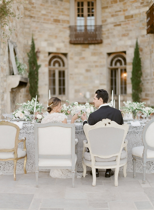 Bride and Groom | European Inspired Wedding Ideas With Old World Elegance by Jeanni Dunagan Photography