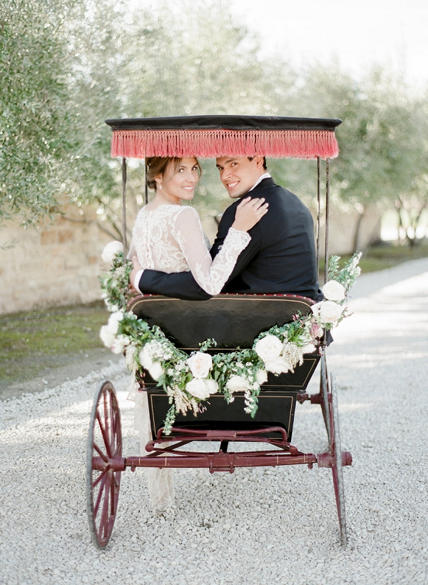 Vintage Getaway with an 1880's Surrey | European Inspired Wedding Ideas With Old World Elegance by Jeanni Dunagan Photography