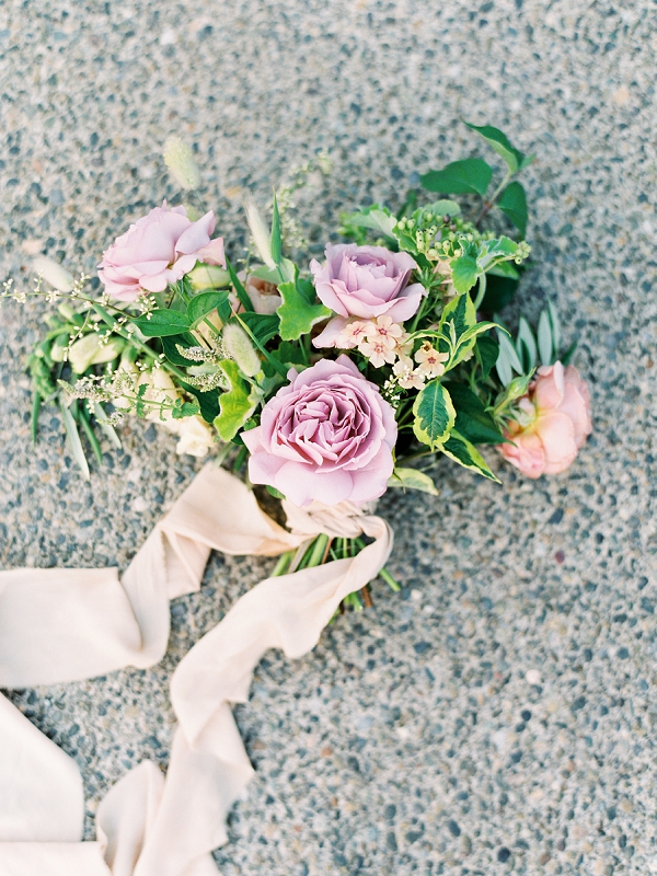 Rose Bouquet | French Provence Wedding Inspiration by Savan Photography