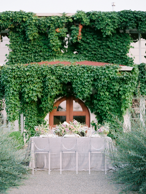 Outdoor Reception Setup | French Provence Wedding Inspiration by Savan Photography