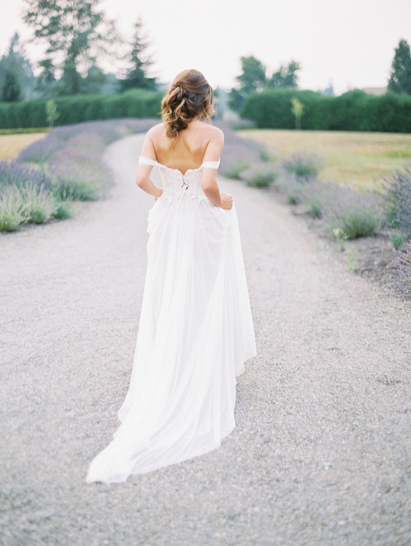 Bride | French Provence Wedding Inspiration by Savan Photography