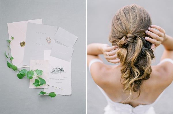 Wedding Stationery | French Provence Wedding Inspiration by Savan Photography