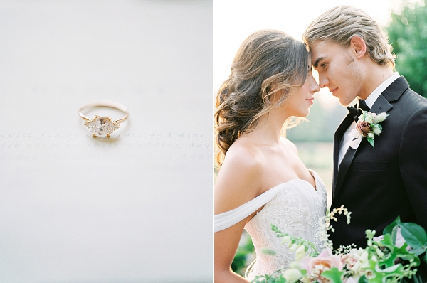 Bride and Groom | French Provence Wedding Inspiration by Savan Photography