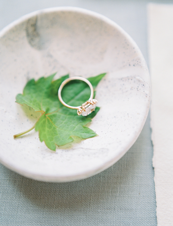Wedding Ring | French Provence Wedding Inspiration by Savan Photography