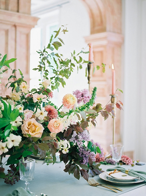 Floral Centerpiece | Jenzel Velo Photography from the Sylvie Gil Workshop in France