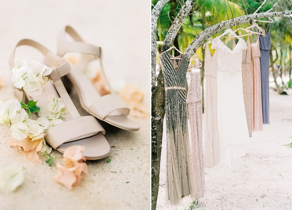 Bride and Bridesmaid Style | Tropical Tulum Wedding By Mason Neufeld Photography