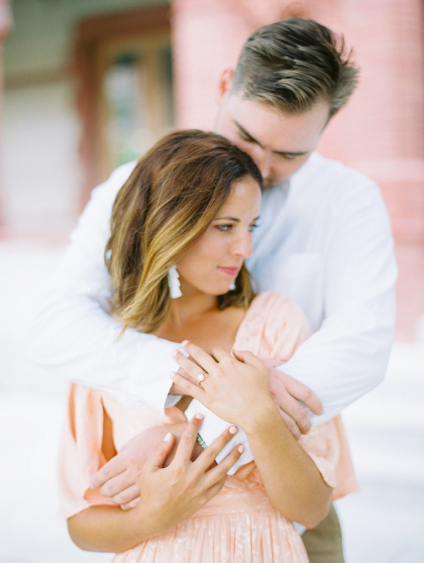 Sweet Florida Proposal and Engagement by Justine Wright Photography