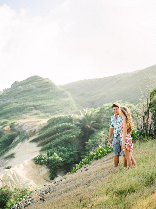 Island Engagement Session in Barbados by Corynn Fowler Photography