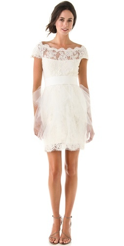 Marchesa Short and Sweet