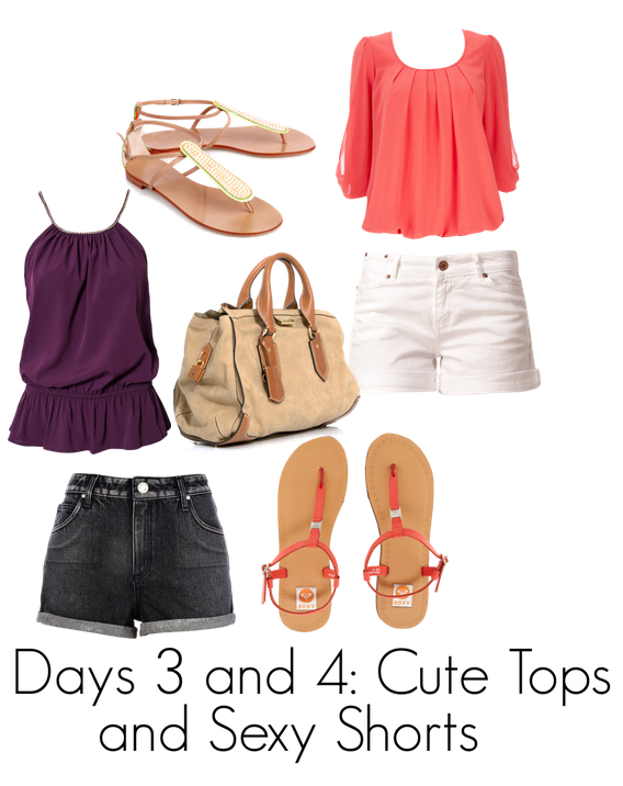 Polyvore Cute Tops and Sexy Shorts
