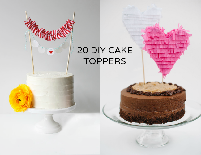 new style 6cfb0 f8cb9 diy-cake-toppers