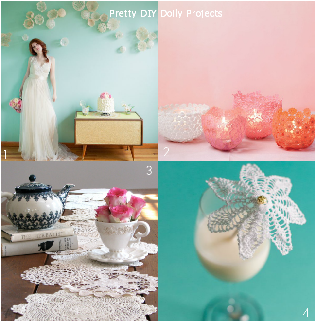 DIY Doily Projects