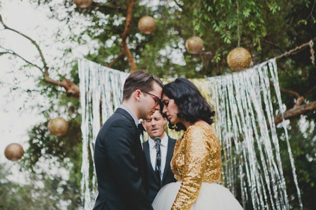 Gold Wedding Gowns