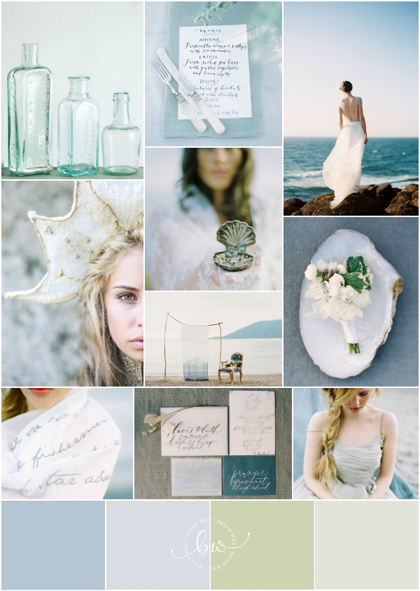Blue and Green Seaside Inspiration
