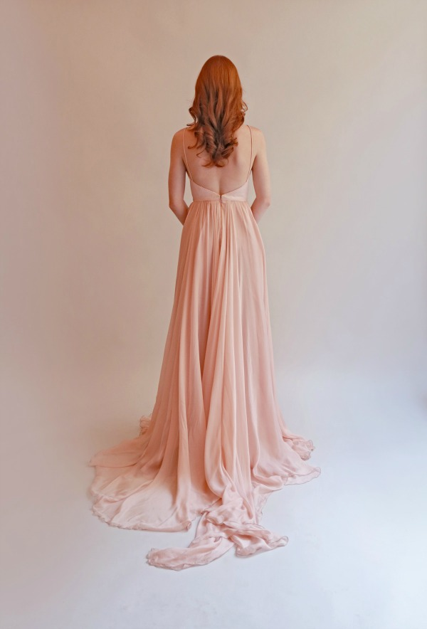 'Lea' in Blush. Leanne Marshall Spring 2015 Bridal Collection | Bajan Wed